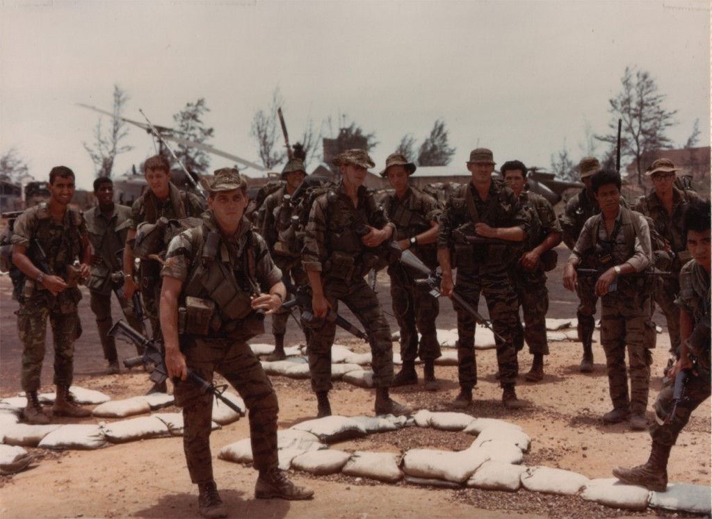 July 26, 1968 - Two 1st Cavalry LRP teams, Quang Tri, Vietnam (Attrib: Icemanwcs)